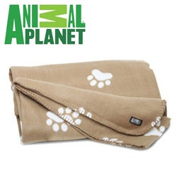 Animal Planet Ultra-Soft Pet Blanket Tan