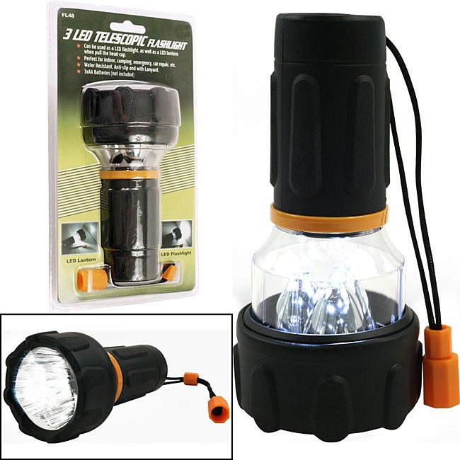 LED Flashlight / Lantern Combo