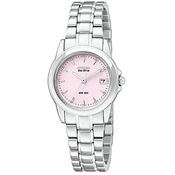 Citizen Women's Eco-Drive Calendar Silhoutte Stainless-Steel Watch