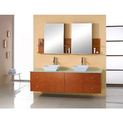 Katie 61-inch Double Sink Bathroom Vanity Set