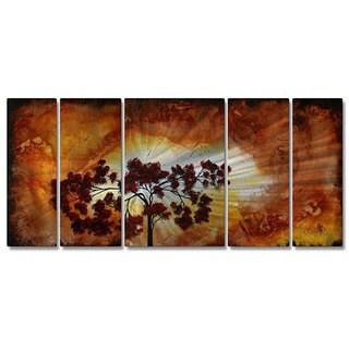 Megan Duncanson 'Sun Tree' Contemporary Metal Wall Art