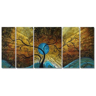 Megan Duncanson 'Sun Tree' Metal Wall Art