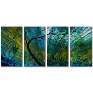 Megan Duncanson 'Spring Movement' Metal Wall Art