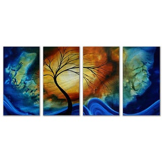 Megan Duncanson 'Complimentary Growth' Metal Wall Art