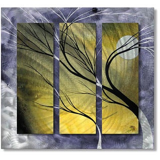 Megan Duncanson 'Moon Light' Metal Wall Art