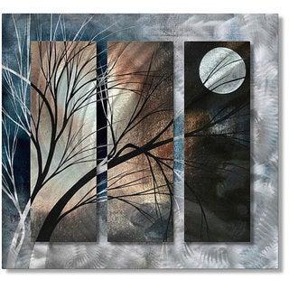 Megan Duncanson 'Full Moon' Metal Wall Art