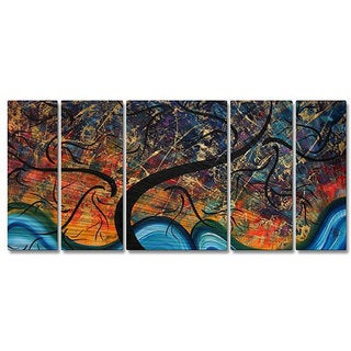 Megan Duncanson 'Brilliant Branches' Metal Wall Art