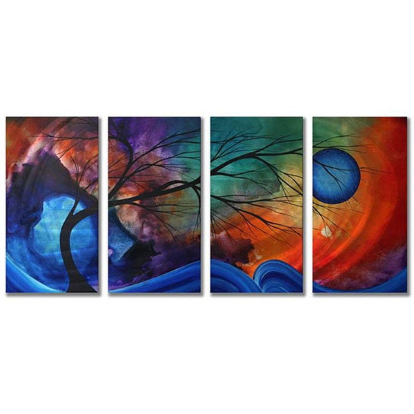 Megan Duncanson 'Cosmic Collision' Metal Wall Art