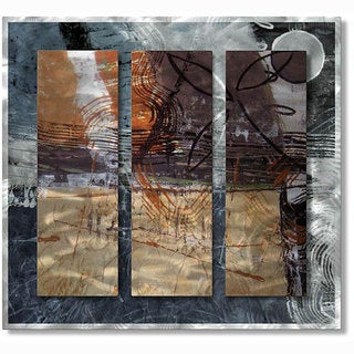 Ruth Palmer 'Contemporary Cool' Metal Wall Art