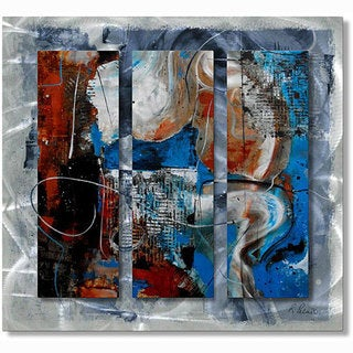 Ruth Palmer 'Opposites Attract' Metal Wall Art