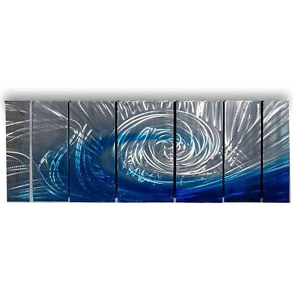 Ash Carl 'Be There' Metal Wall Art