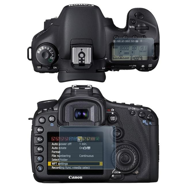 Insten 2-LCD Screen Protector Kit for Canon EOS 7D
