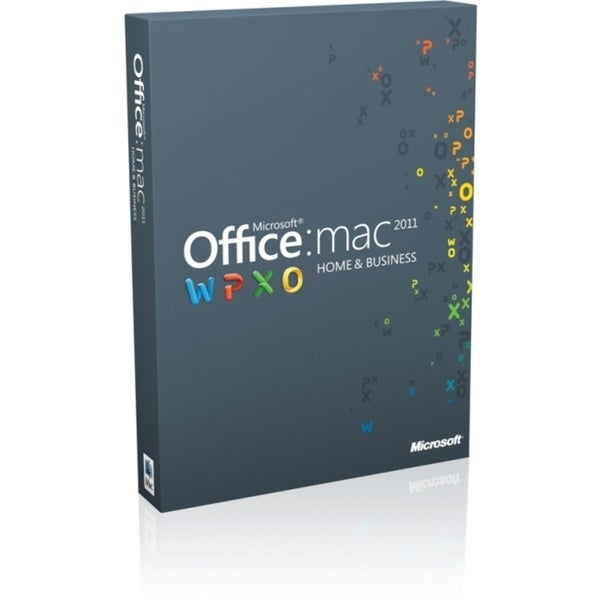 Microsoft Office:mac 2011 Home and Business Multipack - Complete Prod