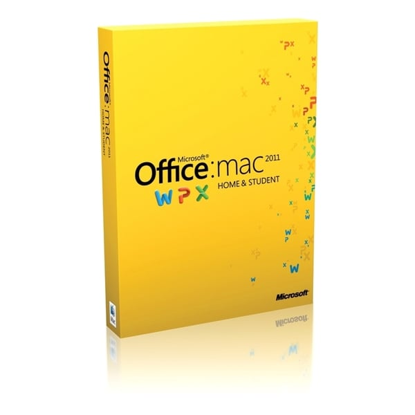 Microsoft Office 2011 Home & Student Edition - Complete Product - 1 I