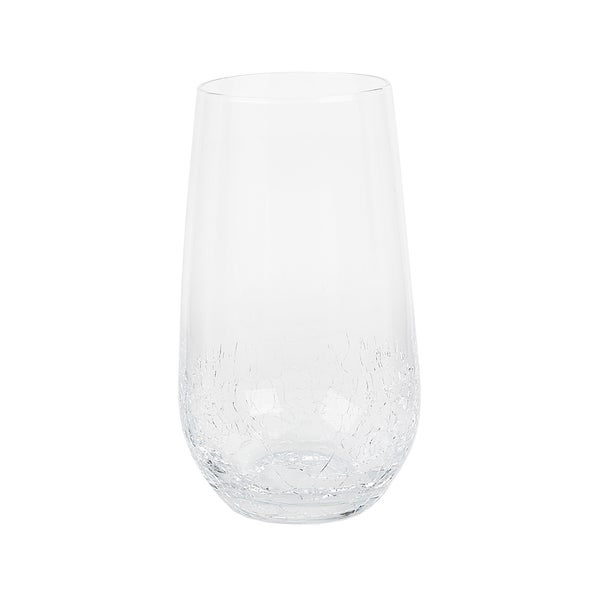 Impulse! Crackle Highball Glasses (Case of 24)