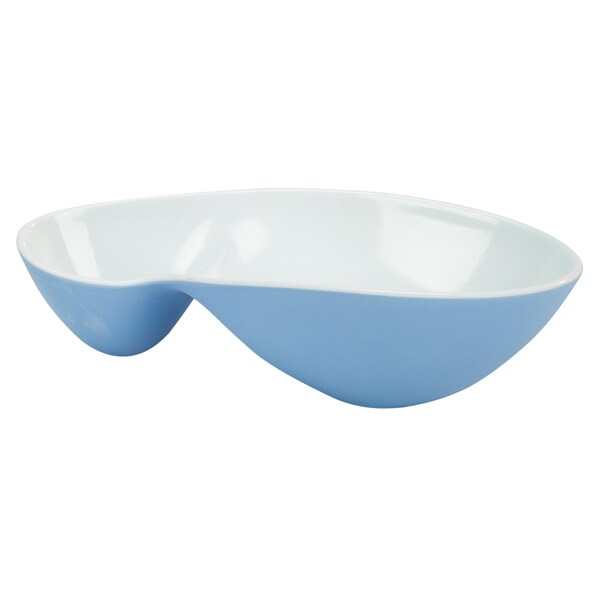 Impulse! Splash Organica Blue Small Double Bento Bowls (Case of 24)