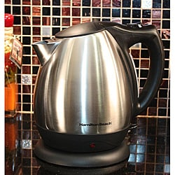 Hamilton Beach 40870E Stainless Steel Electric Kettle