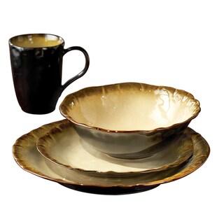 American Atelier Abalone 16-piece Dinnerware Set