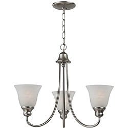 Windgate 3-light Brushed Nickel Chandelier
