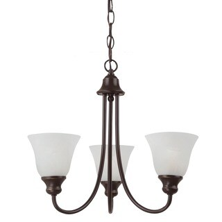 Windgate 3-Light Bronze Chandelier