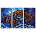 Megan Duncanson 'Cannot Tame' 3-panel Metal Wall Art
