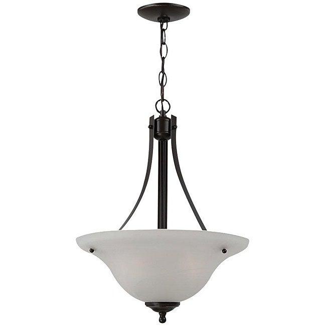 Windgate 2-light Bronze Pendant Light Fixture