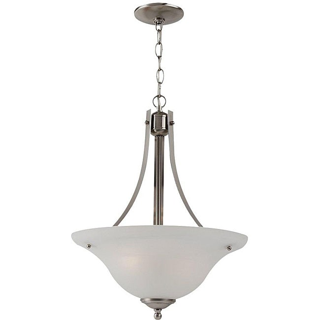 Windgate 2 Light Nickel Pendant Light Fixture