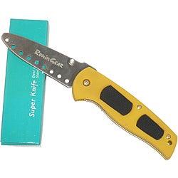 Ronin Gear Yellow Practice Folding Training Knife
