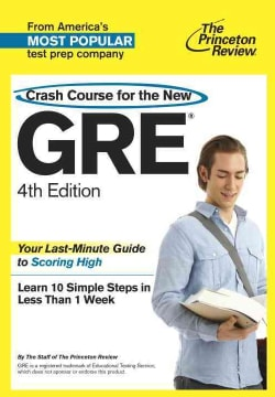Crash Course for the New GRE (Paperback)