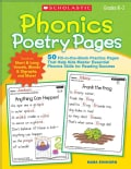 Phonics Poetry Pages (Paperback)