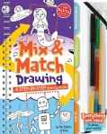 Mix & Match Drawing: A Step-by-step Drawing Studio (Spiral bound)
