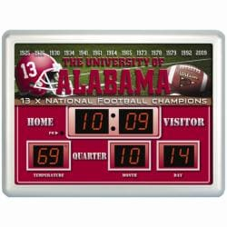 Alabama Crimson Tide Scoreboard Clock