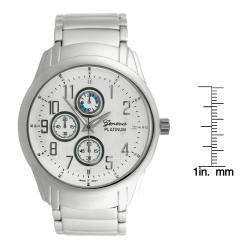 Geneva Platinum Men's Chronograph-style Watch