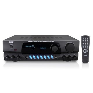 PylePro PT260A AM/FM Receiver - 100 W RMS - 2 Channel - Black