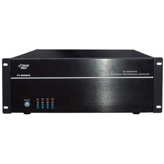 PylePro PT8000CH Amplifier - 1000 W RMS - 8 Channel