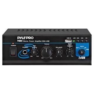 Pyle PTAU23 Amplifier - 40 W RMS