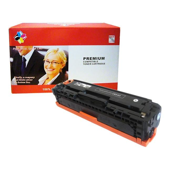 Hewlett Packard HP CB540A Laser Toner Cartridge (Remanufactured)