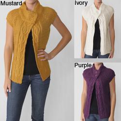Ci Sono by Adi Juniors Cap Sleeve Knit Sweater