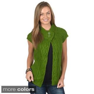 Ci Sono by Adi Juniors Sleeveless Knit Sweater