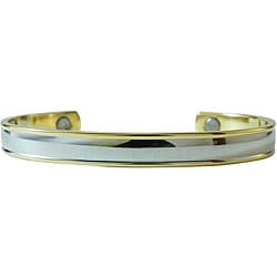 Magnetic Two-tone Band Bracelet
