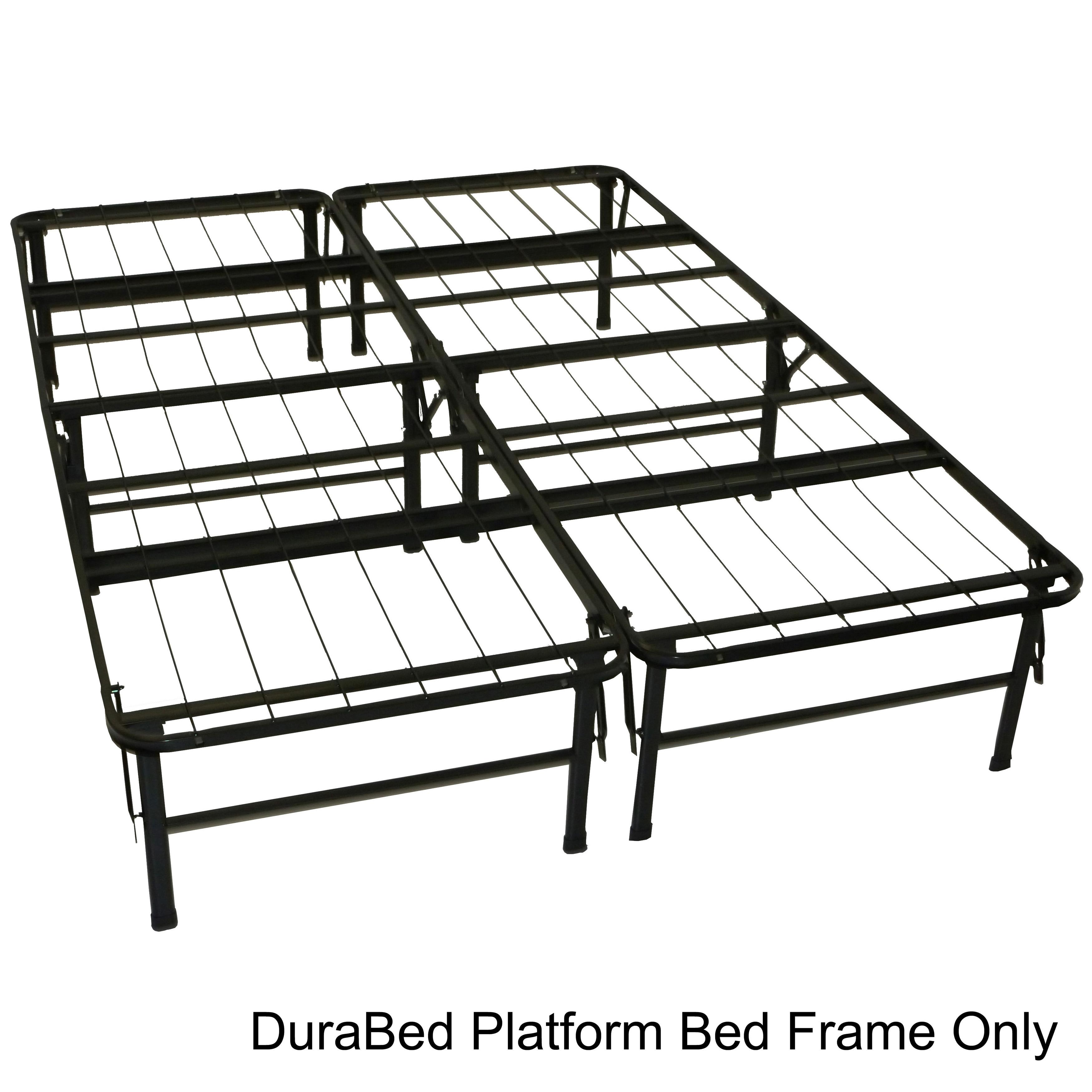 DuraBed Full size Heavy Duty Steel Foundation & Frame in