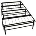 DuraBed Twin-size Heavy Duty Steel Foundation and Frame-in-One Mattress Support System Platform Bed Fr