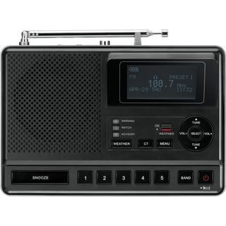 Sangean CL-100 Portable Clock Radio - Stereo