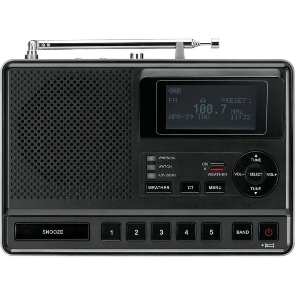 Sangean CL-100 Portable Clock Radio - Stereo