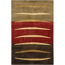 Mandara Contemporary Patterned Wool Rug (7'9 x 10'6)