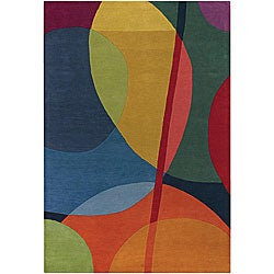 Hand-tufted Erima Multicolor Wool Rug (7'9 x 10'6)