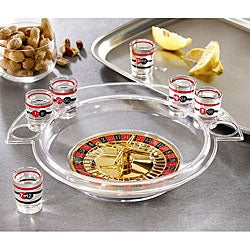 Game Night Shot Glass Roulette
