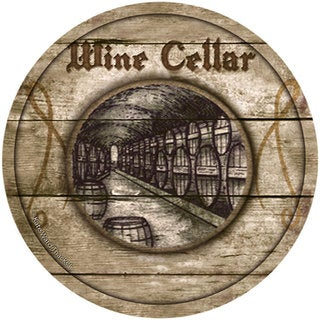 Thirstystone 'Wine Cellar' Sandstone Coasters (Set of 4)