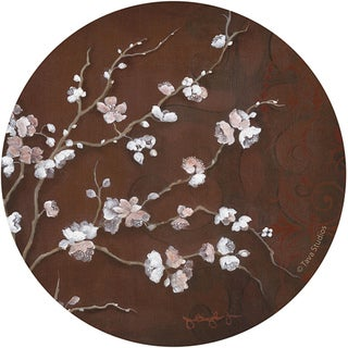 Thirstystone 'Cherry Blossom' Sandstone Coasters (Set of 4)
