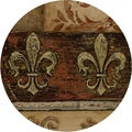 Thirstystone 'Duel Fleur de Lis' Sandstone Coasters (Set of 4)